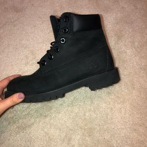 Timberland Shoes - Black timbs